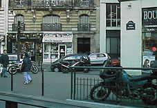 Corner of Ave Macmahon / Rue Troyon
